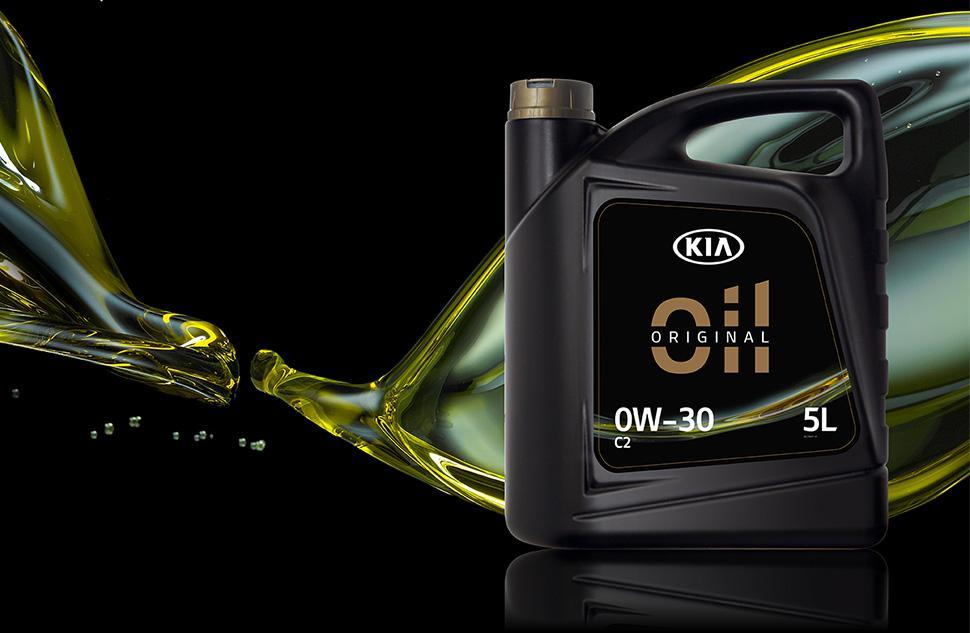 Kia запускає лінійку фірмових моторних олив