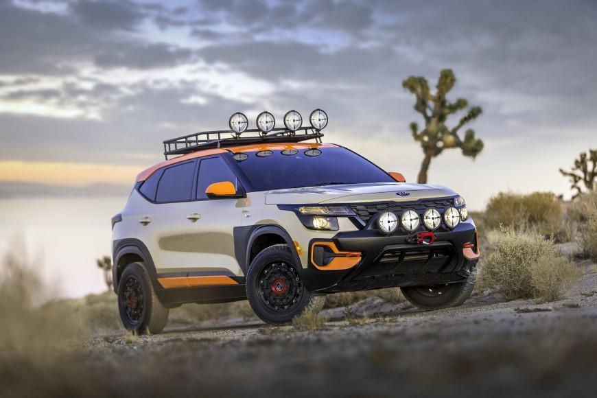 Kia представила в Лос-Анджелесі два концепти в стилі X-Line на базі Seltos